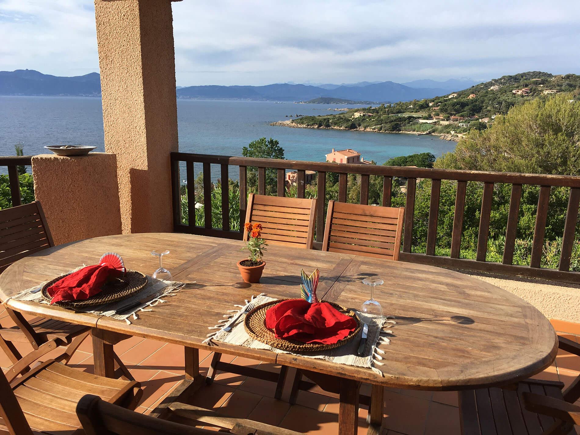U Castellu Lunch view