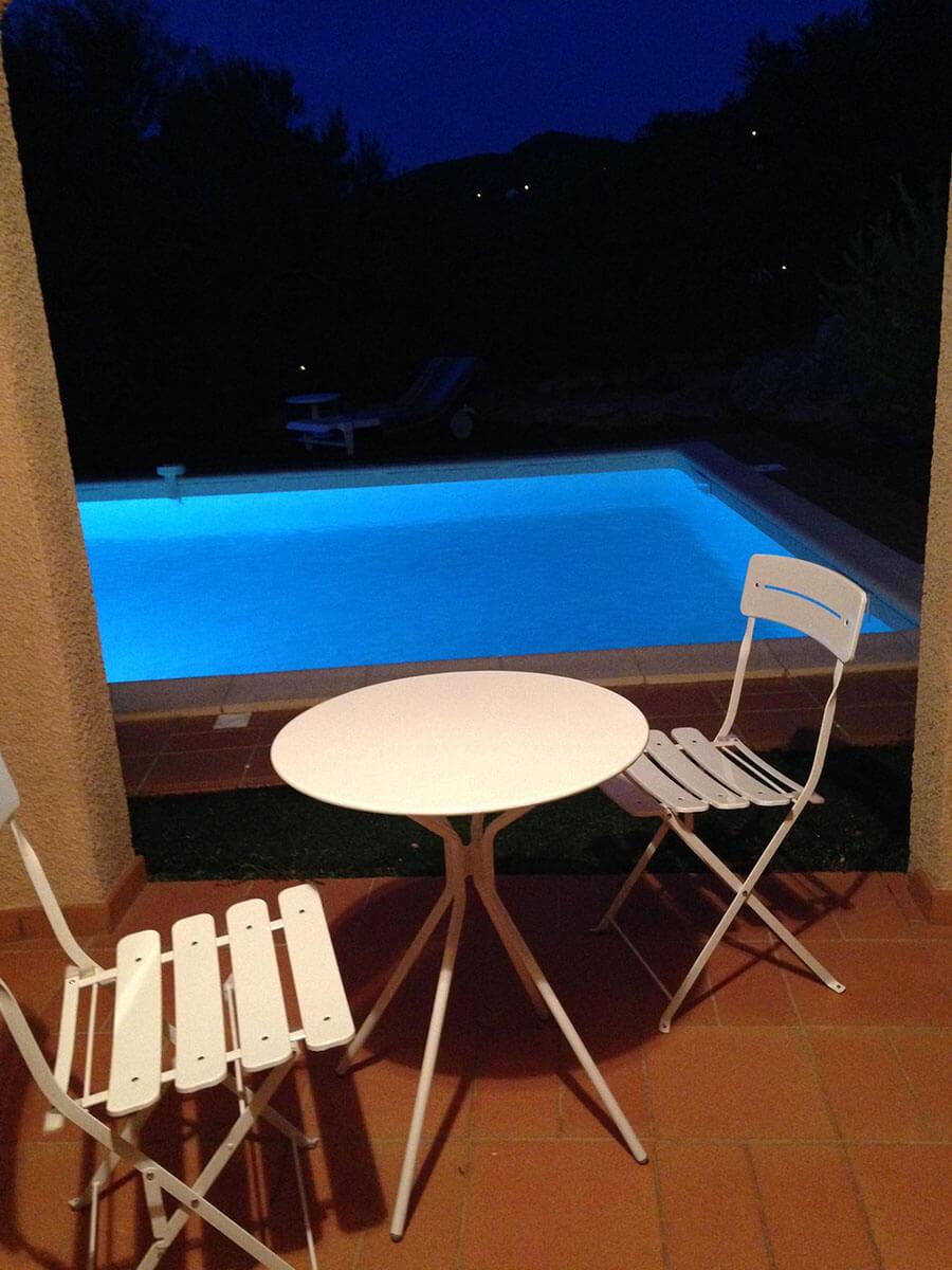 U Castellu Pool dinner