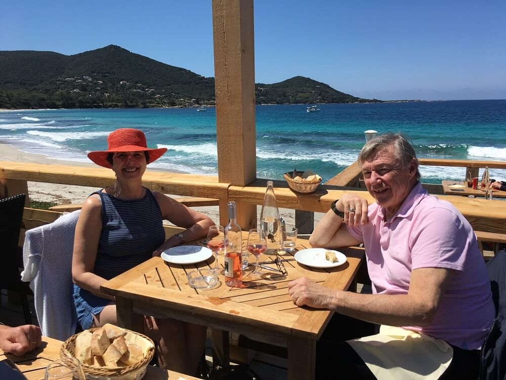 Lunch at Plage d'Argent